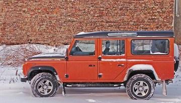 Land Rover Defender 110 Fire